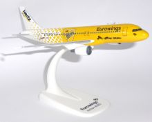 Airbus A320 Eurowings Hertz Rental Herpa Snap Fit Collectors Model Scale 1:200 E
